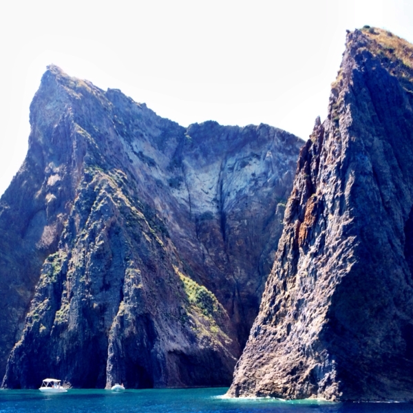 """Palmarola island """"The Cathedral"""" is breathtaking, the water even more so"""
